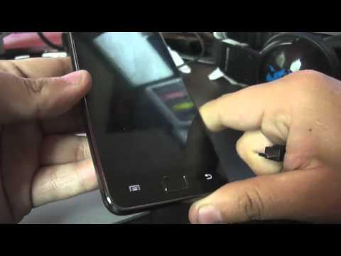 JIG homemade / casero para Galaxy S i9000 y i9100