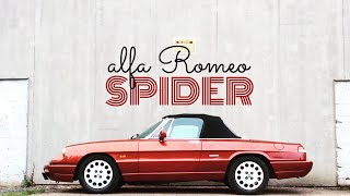 Alfa Romeo Spider Classic Car Review - Paul Woodford