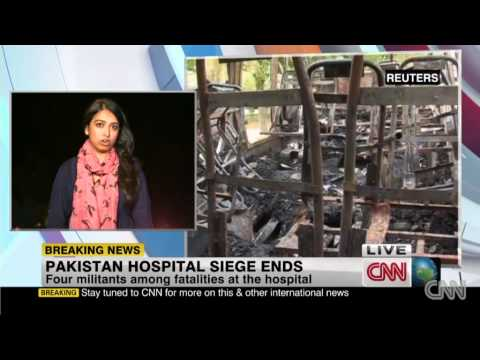 Deadly Siege At A Hospital In Quetta (Pakistan) Ends