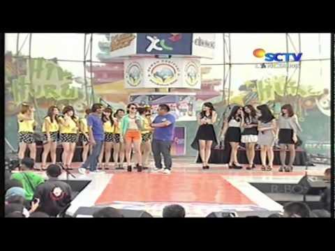 Cherrybelle vs Princess Sing Battle @ Hip Hip Hura 04-12-2011