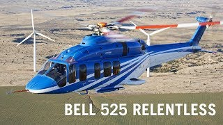 Bell's 525 Relentless Fly-by-wire Helicopter Moves Toward Certification – AINtv