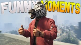 GTA 5 Funny Moments - DOOMSDAY HEIST DLC FUNTAGE!