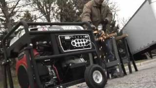 NorthStar Portable Generator - 15,000 Surge Watts, Powered by Honda Engine