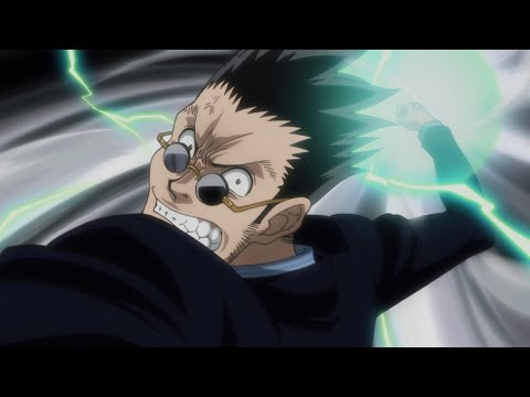 Hunter X Hunter Episode 140 ハンター×ハンター Review - Leorio VS Ging