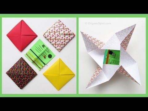 Uses for a Traditional Playground Paper Toy  Origami Spirit
