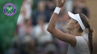 Maria Sharapova vs Vitalia Diatchenko Highlights | Wimbledon 2018