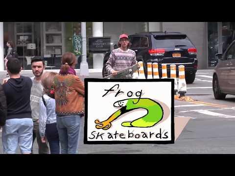 Frog Skateboards x Noah NY