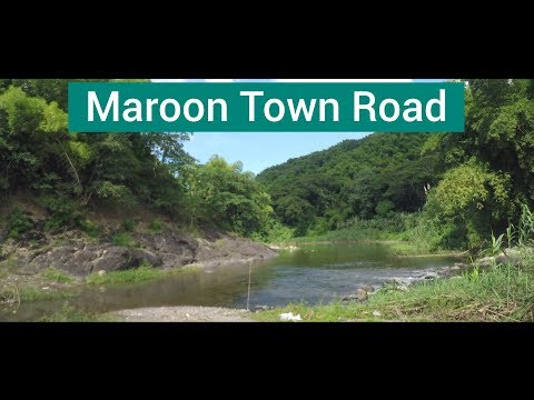 Maroon Town Road, Scotts Hall, St Mary, Jamaica