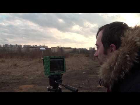 Вжик FPV. Первый полёт с камерой.