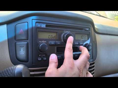 How to retrieve/enter Honda Radio code
