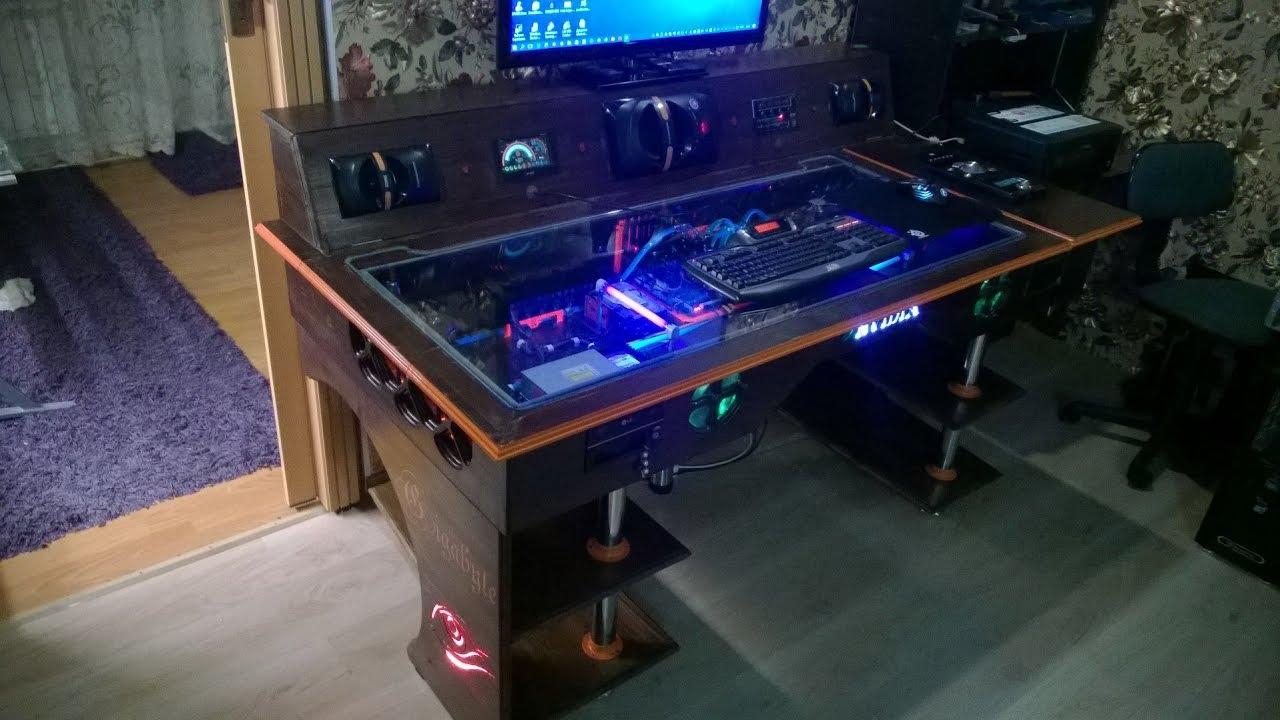 Компьютеры столы своими руками 643