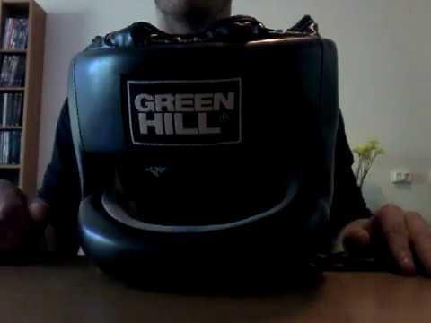 Green Hill Castle acélbetétes fejvédő, fekete termékbemutató videó