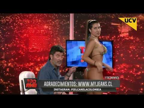 Vero Vieyra y Fran Undurraga desfilan en bikini en 'Toc Show' thumbnail