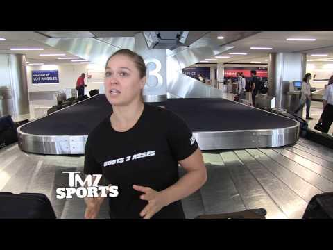 Ronda Rousey -- Fallon Fox Has Unfair Advantage ... But I'd Still Beat Her Ass!