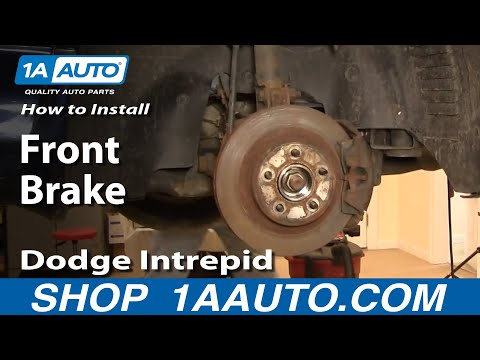How To Install Replace Front Brakes on Dodge Intrepid 98-04 Non ABS 1AAuto.com