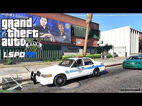 GTA 5 LSPDFR 0.3.1 - EPiSODE  96 - LET'S BE COPS - CITY PATROL (GTA 5 PC POLICE MODS)