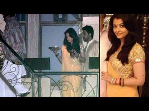 Aishwarya Rai Bachchan celebrates KARVACHAUTH