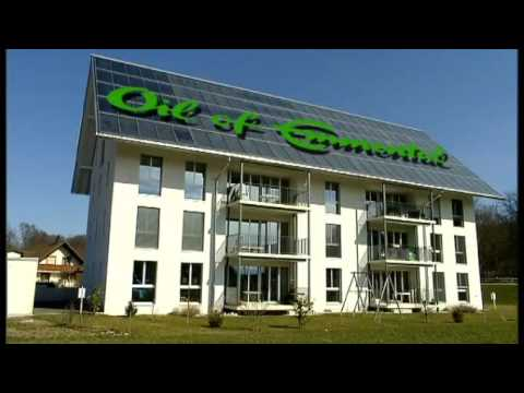 100% solar heated apartment building / Oberburg, Switzerland