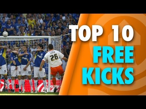 Take a look at the top 10 free kicks we have been able to find in our Tangerine archive! Leave us your top 10 thoughts in the comments section! Subscribe to the Official Blackpool FC YouTube...
