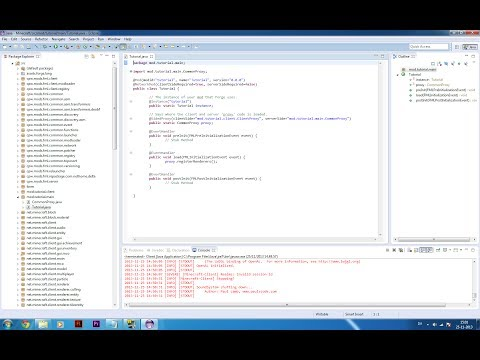 DANSK Minecraft 1.6.4 Modding Tutorial ep. 2 Main Code