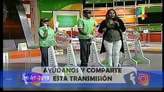 Loteria Nacional en VIVO /Domingo 16 de Junio 2019