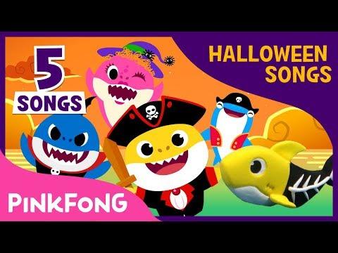 Halloween Baby Shark Compilation | Baby Shark | Halloween Song | Pinkfong Songs for Children