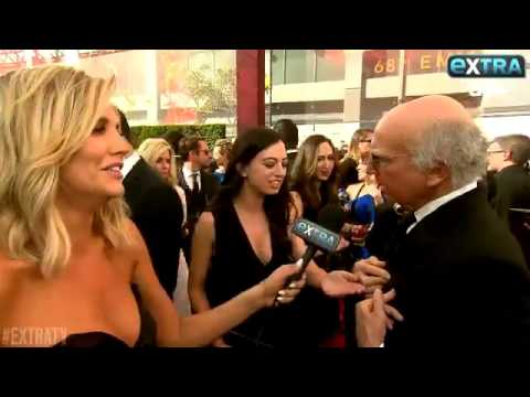 Charissa Thompson on the Red Carpet with Larry David thumbnail