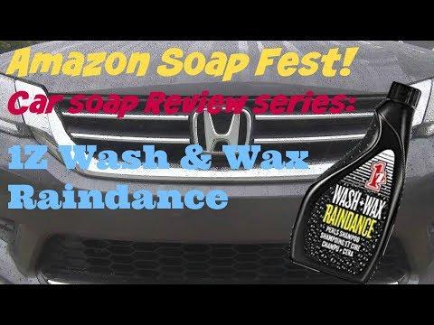 Amazon Soap Fest Review of 1Z Wash and Wax Raindance