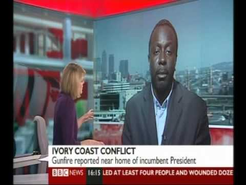 Ayo Johnson -- BBC Interview - Côte d'Ivoire - Fight for Abidjan