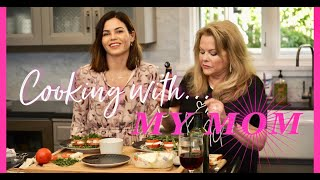 RECIPE: How To Make My Mom's FAMOUS Caprese - Easy Summertime Snack! | Jenna Dewan