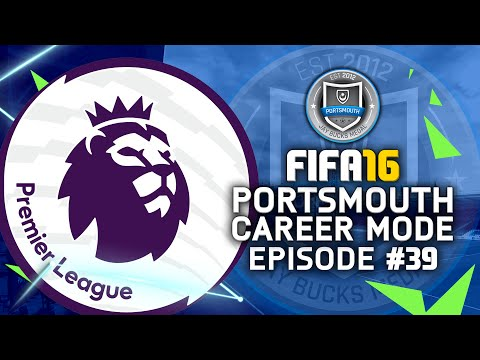 FIFA 16 | Portsmouth Career Mode #39 - PREMIER LEAGUE BOUND!!! #JayBucksRTGCareerMode