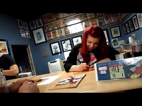 COMIC EVENT: Matt Fraction + Kelly Sue DeConnick (Hawkeye, Captain Marvel)