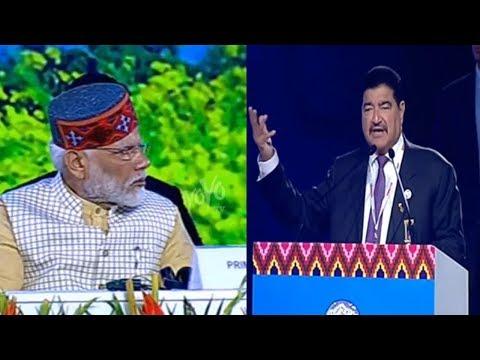 BRS Ventures BR Shetty Praises Modi | Global Investors Meet 2019 ,Dharamshala Himachal Pradesh