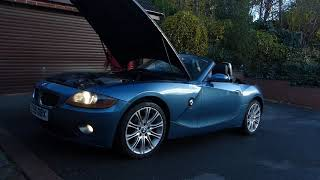 z4 startup on a cold morning