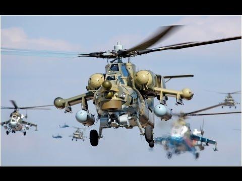 RC модель вертолета Ми-24 — смотреть онлайн видео