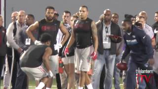 Cornerback Gareon Conley Full On-Field Workout at 2017 Ohio State Pro Day