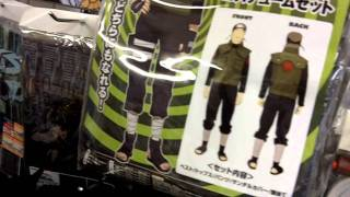 Anime Merchandise store in Akihabara - T-shirts, cosplay and more