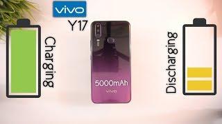 Vivo Y17 Battery Charging and Draining Test (5000mAh Power House) [Urdu/Hindi]
