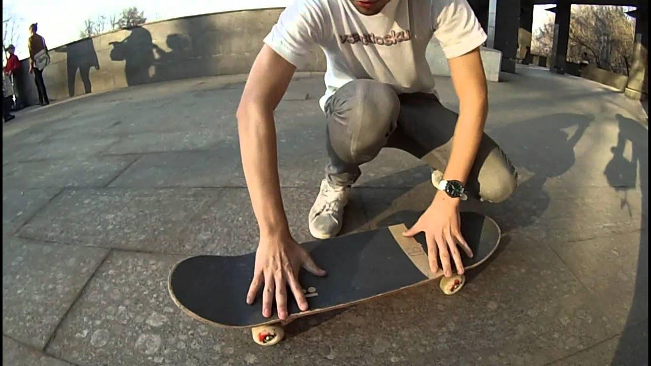 Как сделать кикфлип на скейте 257