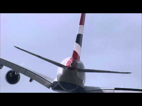 Paris Air Show 2013: British Airways' first A380 takes to the sky