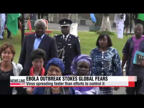 Ebola virus spreading at faster rate in West Africa