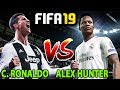 C. RONALDO VS ALEX HUNTER   FIFA 19 YOLCULUK MODU #04