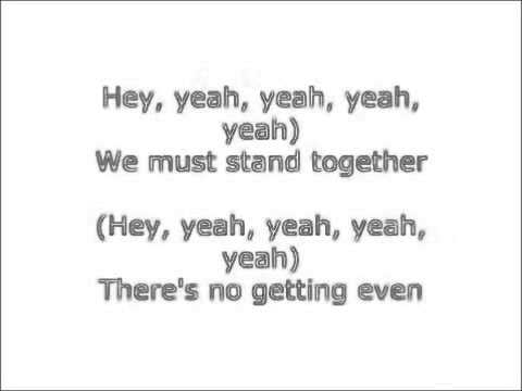 Stand together song lyrics