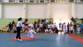 Chung kết taekwondo UEH nữ hạng cân 46kg