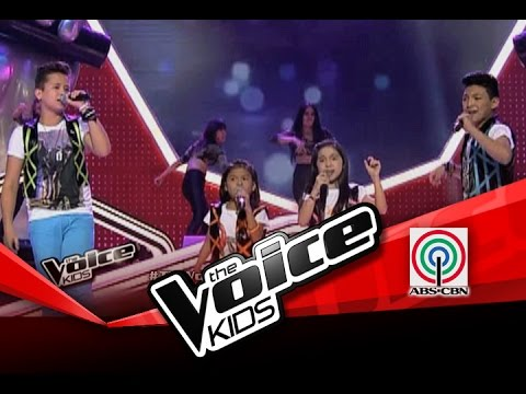 """The Voice Kids Philippines Finale """"OPM Rock Medley"""" by Top 4 Kids"""
