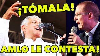 López Obrador LE CONTESTA a Ricardo Anaya, sobre pacto Peña-AMLO