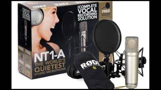 Rode NT1a mic test with Chesqua.