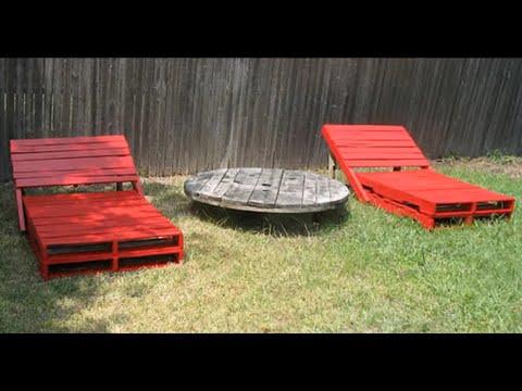 Идеи для дачи мебель из поддонов своими руками