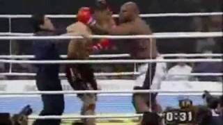 Bob Sapp vs Mike Tyson - promo video (k-1, mma, muay thai fighting, 2012 year)