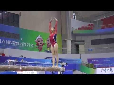 Kyla Ross - Balance Beam - 2014 World Championships - Podium...